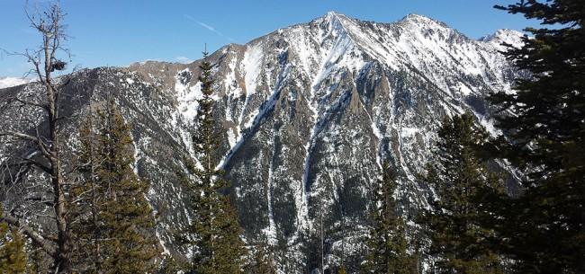 Peak 1 Canyon Gully