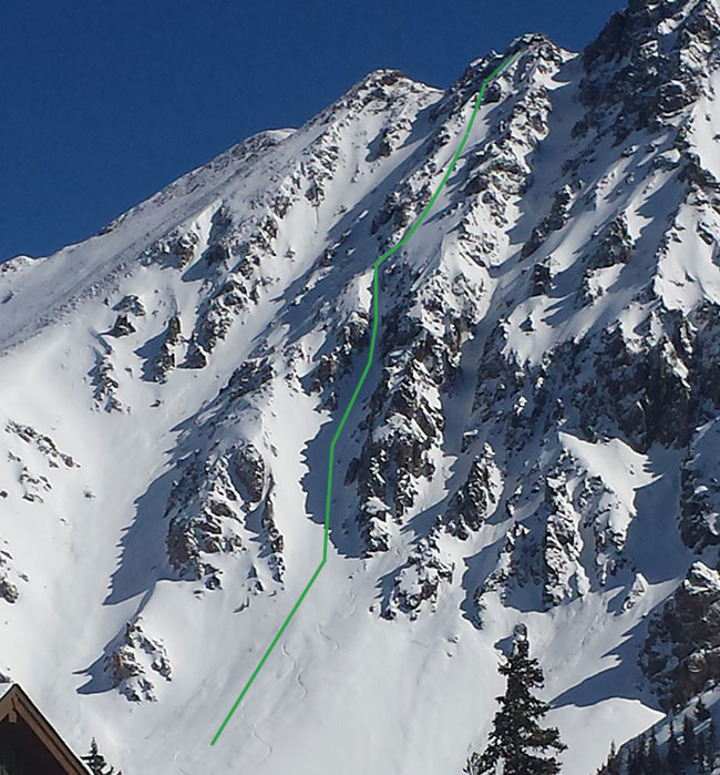 Dogshit Couloir
