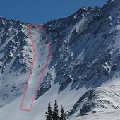 Fletcher Northwest Couloir