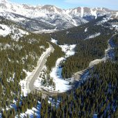 Loveland Pass Hitchhiking Spot