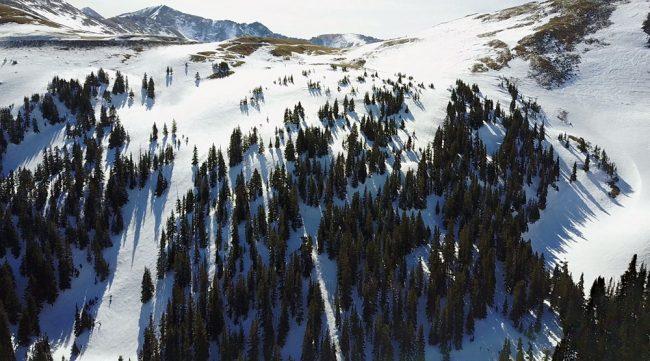 Loveland Pass Main Line Road Shots