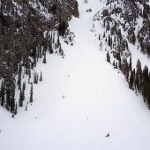 Silver Couloir Lower