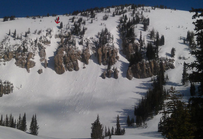 Zero G Couloir, Rock Springs