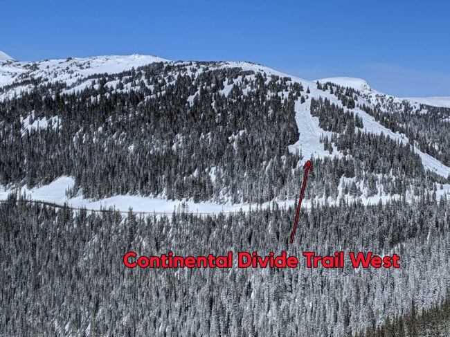 Continental Divide Trail West