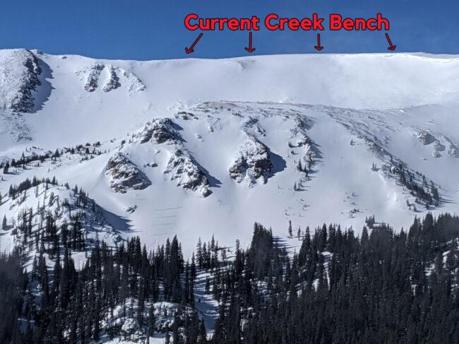 Current Creek Bench