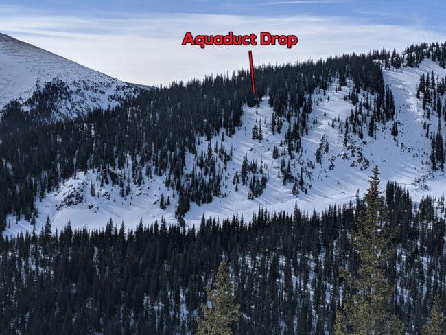 2nd Creek Aquaduct Drop