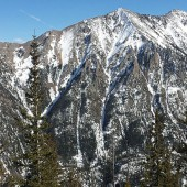 Big Lee Peak One Canyon Gully